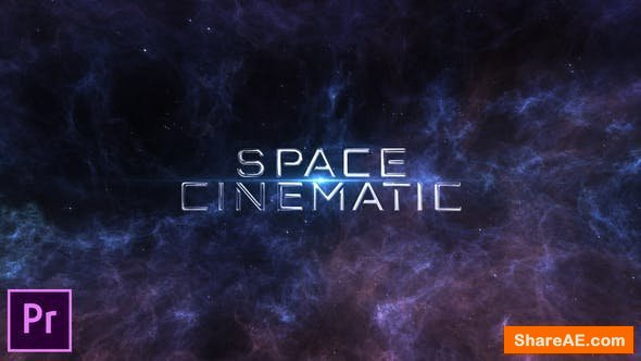 Videohive Space Cinematic Titles - Premiere Pro