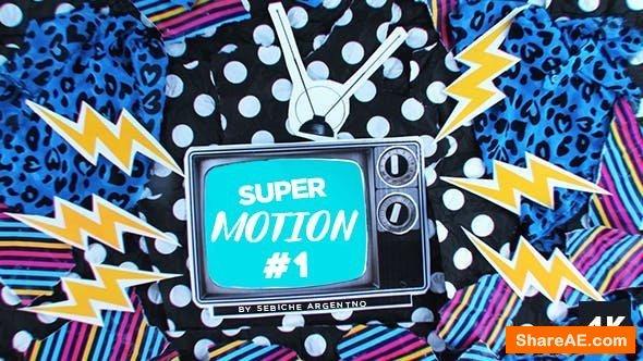 Videohive Super Motion 1 - Final Cut Pro