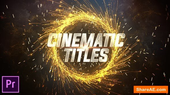 Videohive Cinematic Trailer Titles 24601841 - Premiere Pro