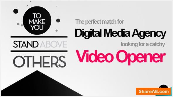 The Digital Media Agency - Opener - After Effects Project (Videohive)