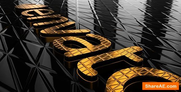 Videohive Gold & Black Logo