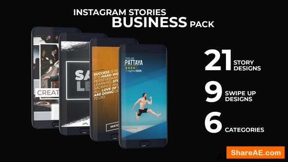 Videohive Instagram Stories Business Pack