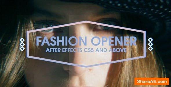 Videohive Fashion Opener - Promo Slideshow
