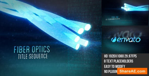 Videohive Optical Fiber Titles