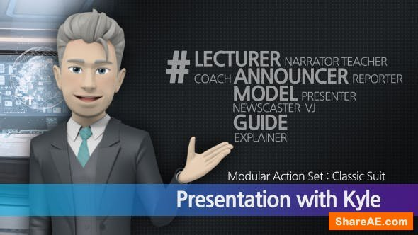 Videohive Presentation With Kyle: Classic Suit