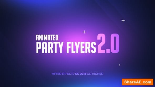 Videohive Animated Party Flyers 2.0