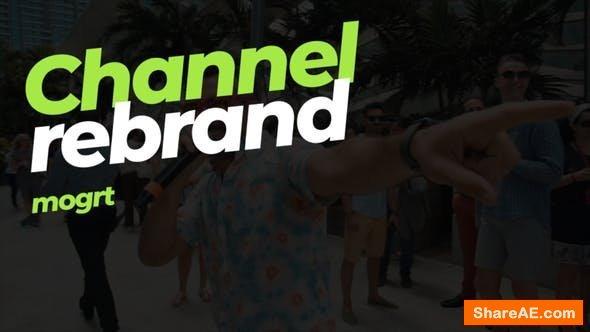Videohive Channel rebrand - mogrt - Premiere Pro