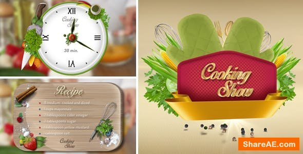 Videohive Cooking Show Pack 2