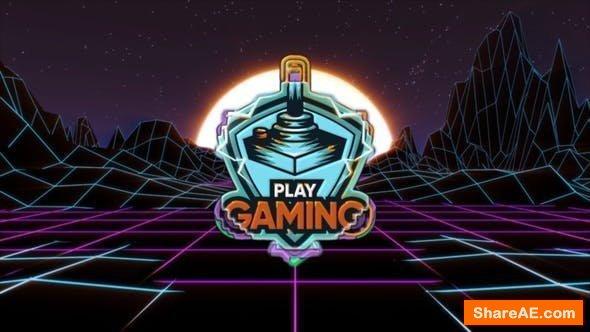 Videohive Oldies Gamer Logo