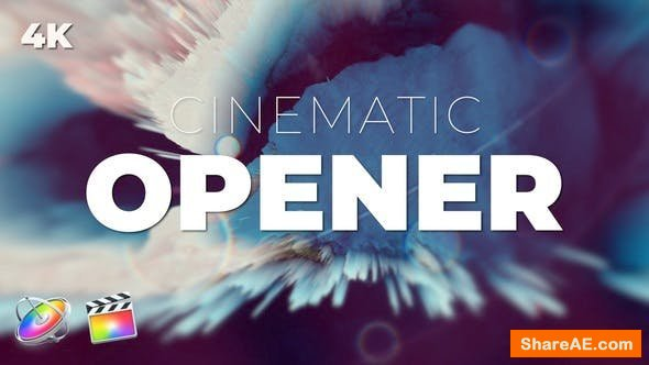 Videohive Cinematic Opener - Final Cut Pro