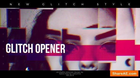 Videohive Glitch Inspired Opener - Final Cut Pro