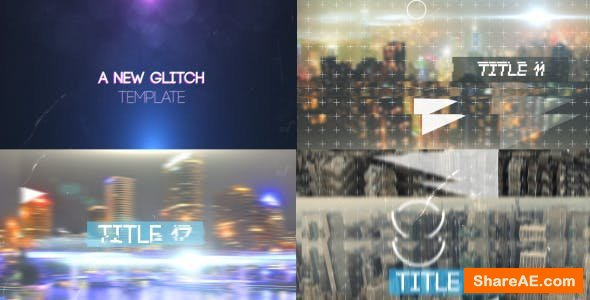 Videohive Dynamic Glitch Slideshow