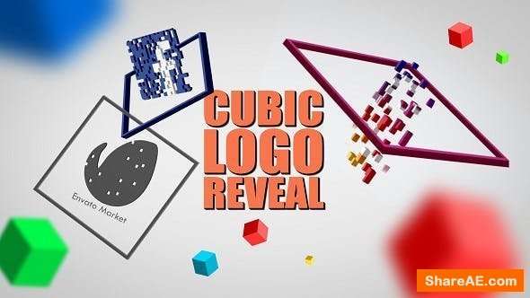 Videohive Cubic Logo Reveal
