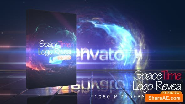 Videohive SpaceTime Logo Reveal