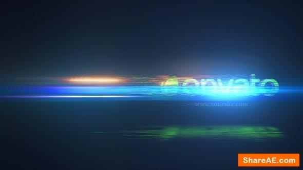 Videohive Elegant Glitch Logo Reveal