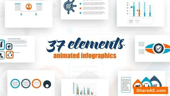 Videohive Infographics Elements