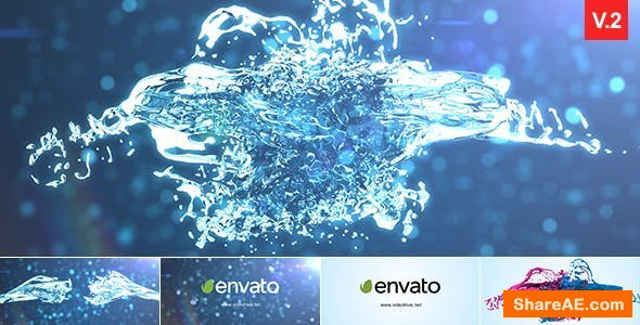 Videohive Splash Logo Reveal 13754978