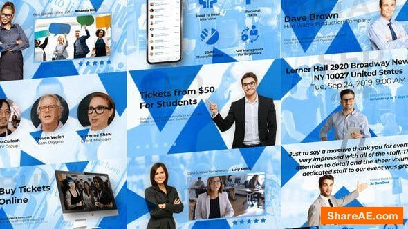 Videohive Data Science Event - Tech Event and Conference Promo