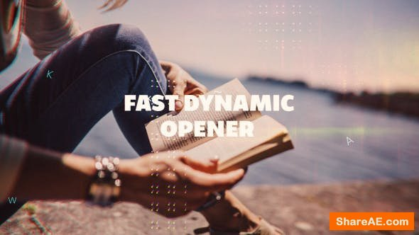 Videohive Fast Dynamic Opener 19978799
