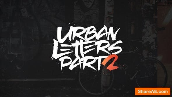 Videohive Urban Letters 2