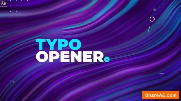 Videohive Dynamic Typography Opener 24701729