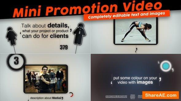 Videohive Mini Promotion Video