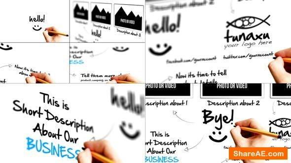 Videohive Sketch Presentation