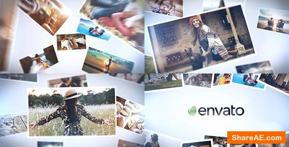 Videohive Elegant photo logo