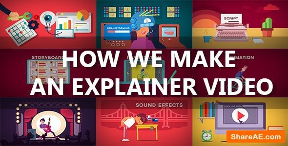 Videohive How We Make An Explainer Video