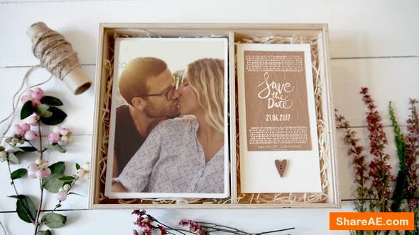 Videohive Wedding Invitation Box