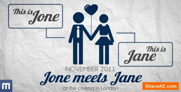 Videohive Save The Date - Wedding Invitation