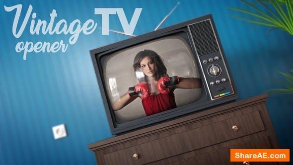 Videohive Vintage TV