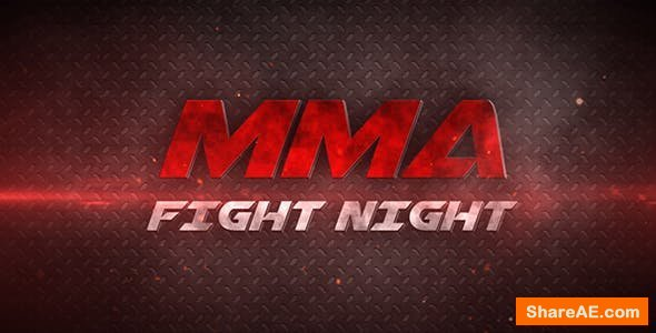 Videohive Fight Night / MMA
