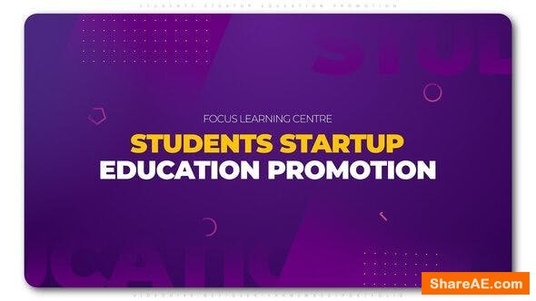 Videohive Students Startup Education Promotion