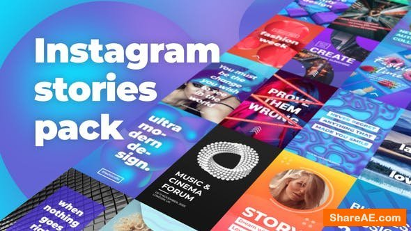Videohive Instagram Stories Pack 24706785
