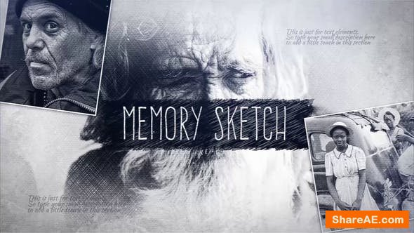 Videohive Memory Sketch