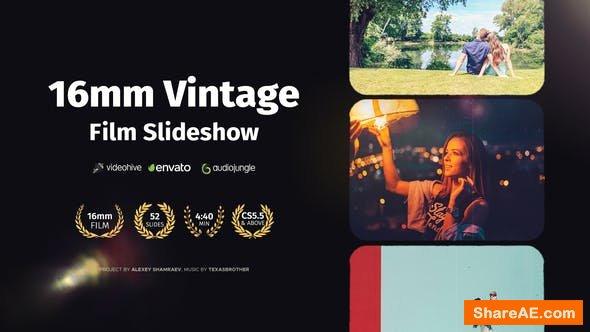 Videohive 16mm Vintage Film Slideshow