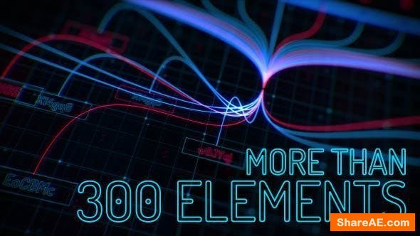 Videohive Sci-fi Interface HUD Package 2