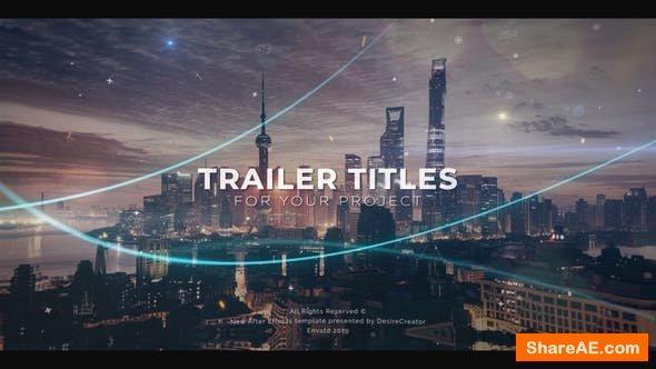 Videohive The Trailer 23707588