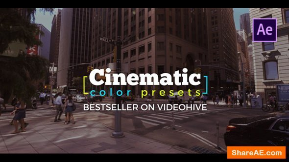 Videohive Cinematic Color Presets -  After Effects Presets