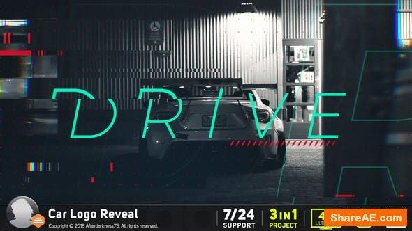 Videohive Car Logo Reveal 20426344
