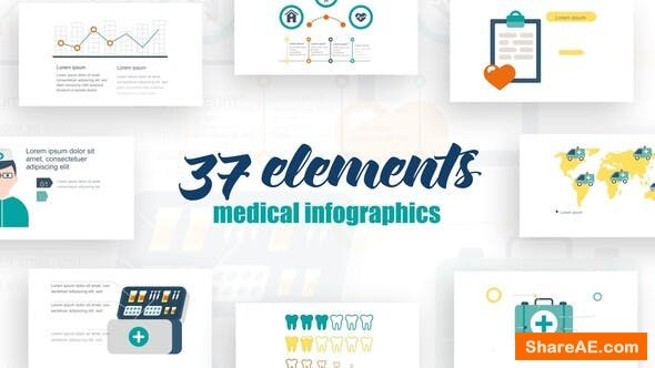 Videohive Infographics Medical Elements 2