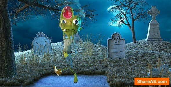 Videohive The Halloween Zombie