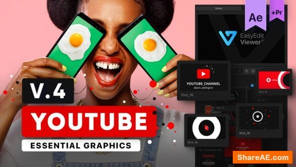 Videohive Youtube Essential Library v4