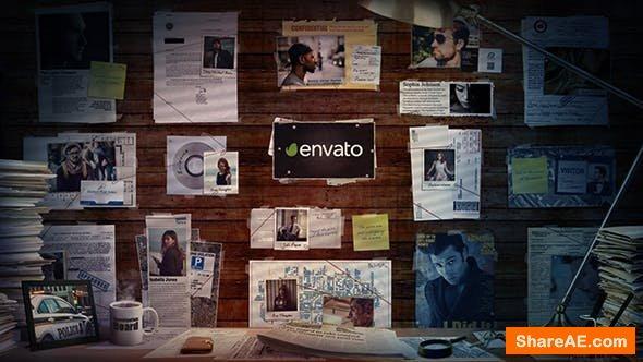 Videohive Investigation Board II