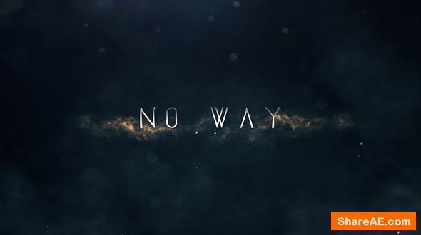 Videohive No Way   Trailer Titles