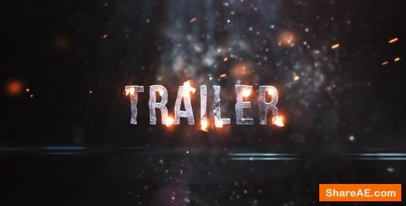 Videohive Short Fire Trailer