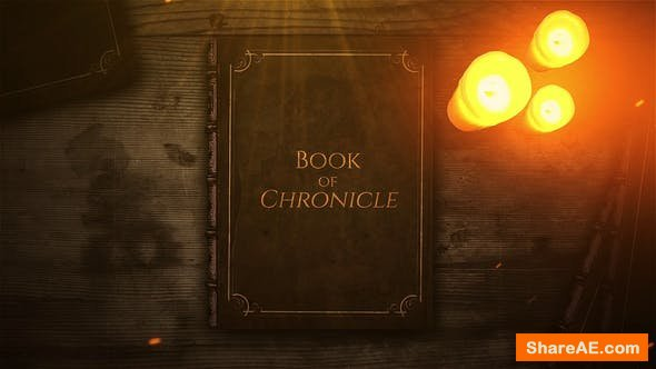 Videohive Book of Chronicle