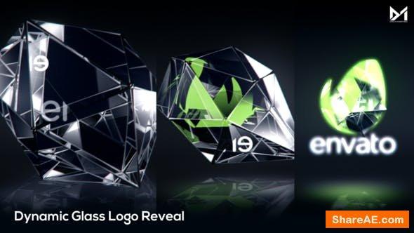 Videohive Dynamic Glass Logo Reveal