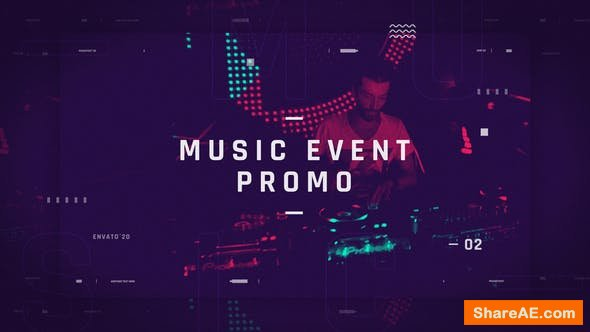 Videohive Music Event Promotion